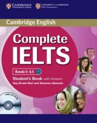 Complete IELTS. Bands 5-6.5. Students Book with answers (+ CD) - okładka podręcznika