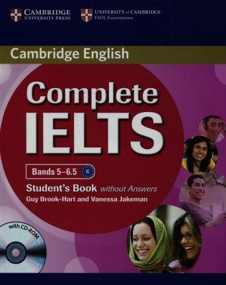 Complete IELTS. Bands 5-6.5. Students - okładka podręcznika