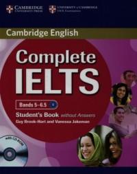 Complete IELTS. Bands 5-6.5. Students Book without answers - okładka podręcznika