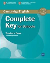 Complete Key for Schools. Teachers - okładka podręcznika