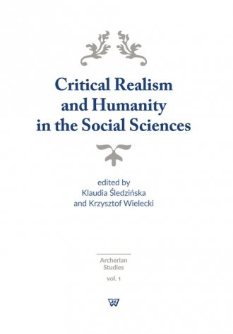 Critical Realism and Humanity in - okładka książki