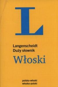 Duży słownik włoski - okładka książki