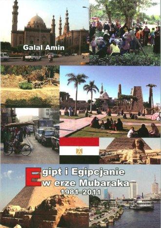 Egipt i Egipcjanie w erze Mubaraka - okładka książki