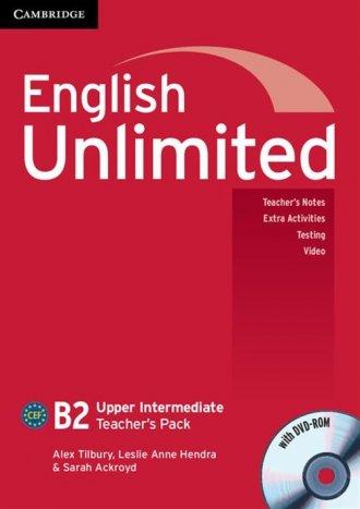 English Unlimited. Upper Intermediate - okładka podręcznika