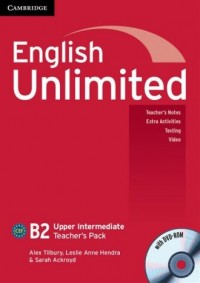English Unlimited. Upper Intermediate Teachers pack (+ DVD) - okładka podręcznika