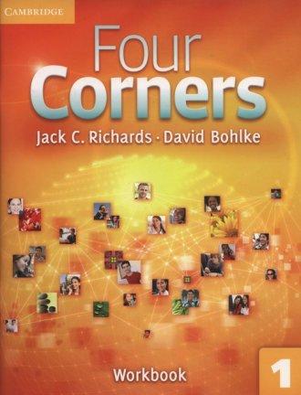Four Corners 1. Workbook - okładka podręcznika