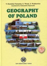 Geography of Poland. Szkoła ponadgimnazjalna. Podręcznik - okładka podręcznika