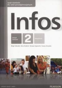 Infos 2. Zeszyt ćwiczeń - okładka podręcznika