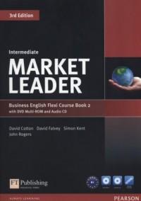 Market Leader. Intermediate Flexi Course Book 2 (+ CD DVD) - okładka podręcznika