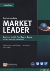 Market Leader. Pre-Intermediate Flexi Course Book (+ 2 CD DVD) - okładka podręcznika