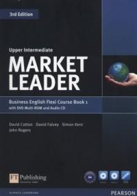 Market Leader. Upper-Intermediate Flexi Course Book 1 (+ CD DVD) - okładka podręcznika