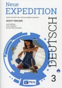 Neue Expedition Deutsch 3. Szkoła ponadgimnazjalna. Zeszyt ćwiczeń - okładka podręcznika