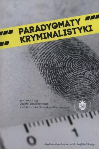 Paradygmaty kryminalistyki - okładka książki
