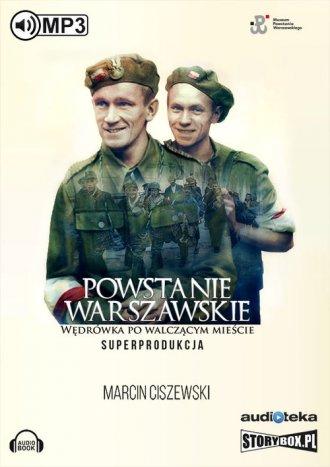 Powstanie Warszawskie. Wędrówka - pudełko audiobooku