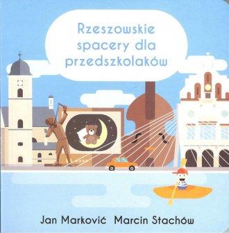 Rzeszowskie spacery dla przedszkolaków - okładka książki