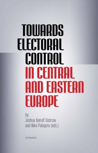 Towards Electoral Control In Central - okładka książki