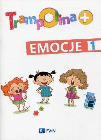 Trampolina+ Emocje 1 - okładka podręcznika