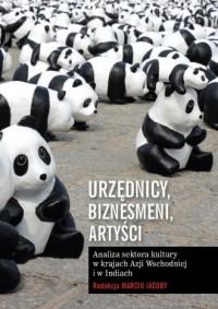Urzędnicy, biznesmeni, artyści. - okładka książki