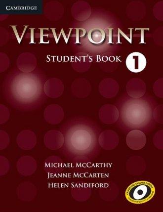 Viewpoint 1. Students Book - okładka podręcznika