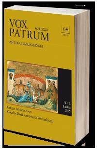 Vox Patrum. Tom 64 - okładka książki