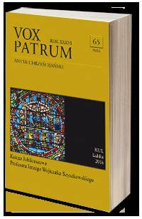 Vox Patrum. Tom 65 - okładka książki