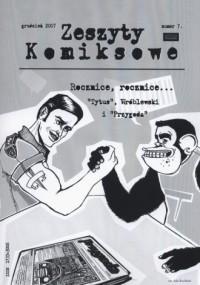 Zeszyty komiksowe nr 7. Rocznice, rocznice? - okładka książki