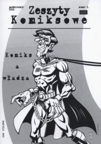 Zeszyty komiksowe nr 8. Komiks a władza - okładka książki