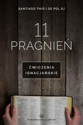 11 pragnień. Ćwiczenia ignacjańskie - okładka książki