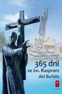 365 dni ze św. Kasprem del Bufalo - okładka książki