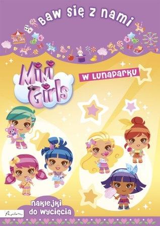 Baw się z nami. Mini Girls. W lunaparku - okładka książki