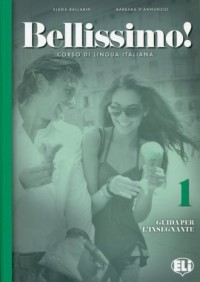 Bellissimo 1. Guida - okładka podręcznika