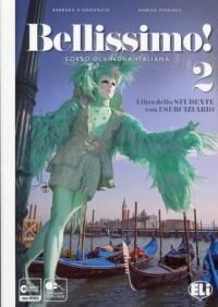 Bellissimo 2. Libro + Eserciziario ( CD) - okładka podręcznika