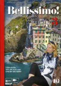 Bellissimo 3. Libro Eserciziario (+ CD) - okładka podręcznika