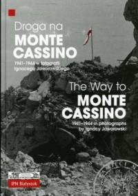 Droga na Monte Cassino 1941-1944 - okładka książki