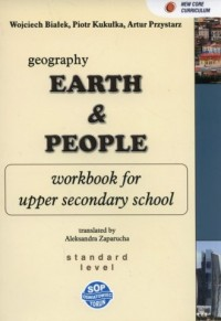 Earth and people. Geography 1. Gimnazjum. Zeszyt zadań dla klas dwujęzycznych - okładka podręcznika
