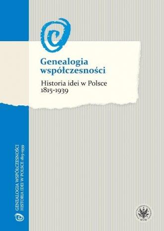 Genealogia współczesności. Historia - okładka książki
