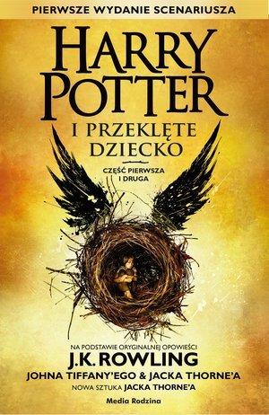 Harry Potter i Przeklęte Dziecko. - okładka książki