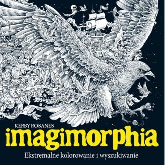 Imagimorphia. Ekstremalne kolorowanie - okładka książki