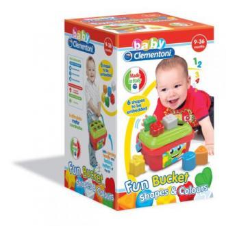 Koszyk kształtów i kolorów - zdjęcie zabawki, gry