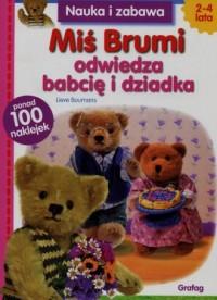Miś Brumi odwiedza babcię i dziadka - okładka książki