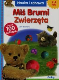 Miś Brumi. Zwierzęta - okładka książki