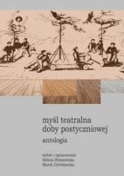Myśl teatralna doby postyczniowej. - okładka książki