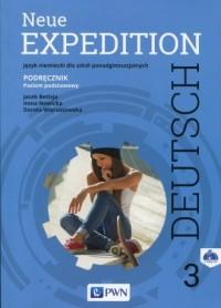 Neue Expedition Deutsch 3. Szkoła ponadgimnazjalna. Podręcznik (+ 2 CD). Poziom podstawowy - okładka podręcznika