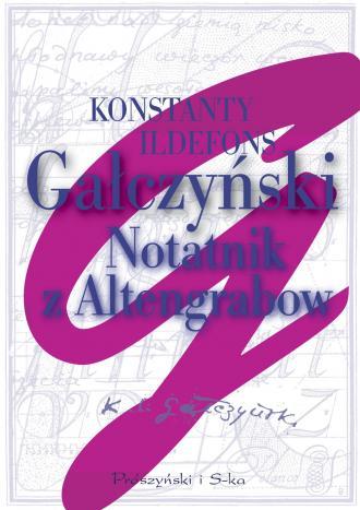Notatnik z Altengrabow - okładka książki