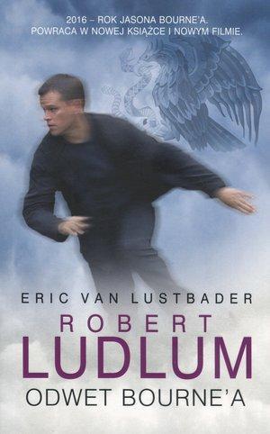 Odwet Bourne a - okładka książki