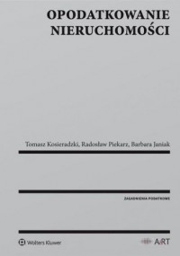 Opodatkowanie nieruchomości - okładka książki