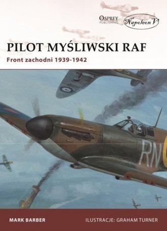 Pilot myśliwski RAF. Front zachodni - okładka książki