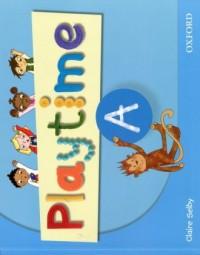 Playtime A. Class Book - okładka podręcznika