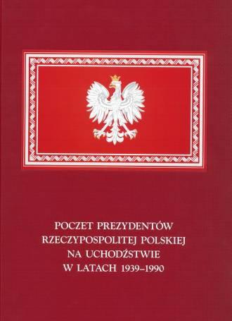 Poczet Prezydentów Rzeczypospolitej - okładka książki