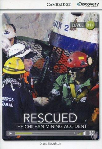 Rescued. The Chilean Mining Accident. - okładka książki